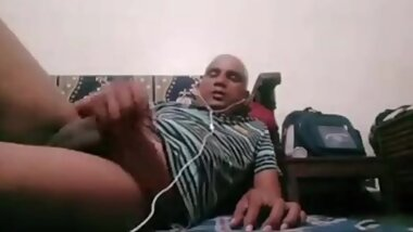 Married indian man shows his destroyed asshole
