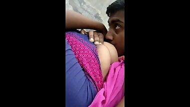 Indian guy sucks her shy elder sister's Friend outdoor